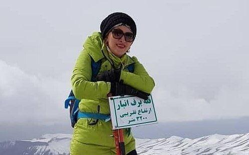 جسد زن کوهنورد گمشده در قله دماوند پیدا شد