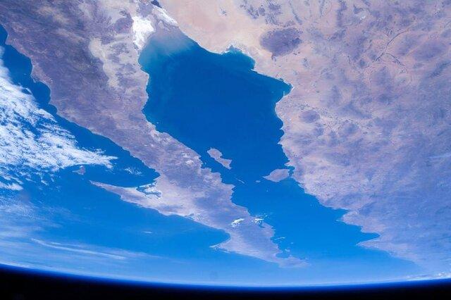 یکی از برجستهترین مناطق زمین از منظر فضا