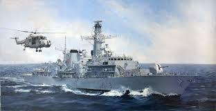 ناو جنگی انگلیس راهی خلیج فارس شد