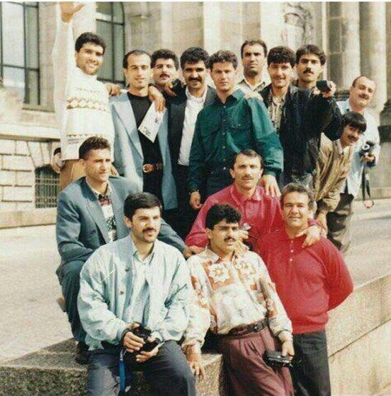 عکس قدیمی ازبازیکنان نسل طلایی پرسپولیس درسفرخارجی