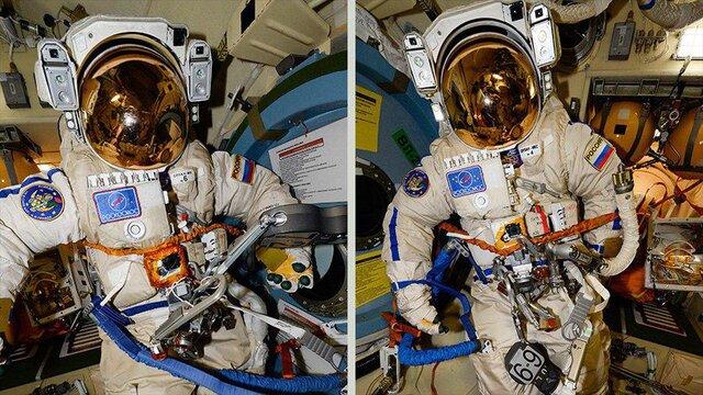 لباس جدید فضایی روسیه با کاربرد ۲ گانه