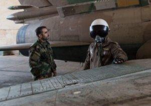خلبان جنگنده سوریه به اسارت تروریستهای النصره درآمد