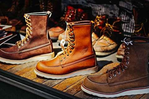 طرحهای کفش رد وینگ