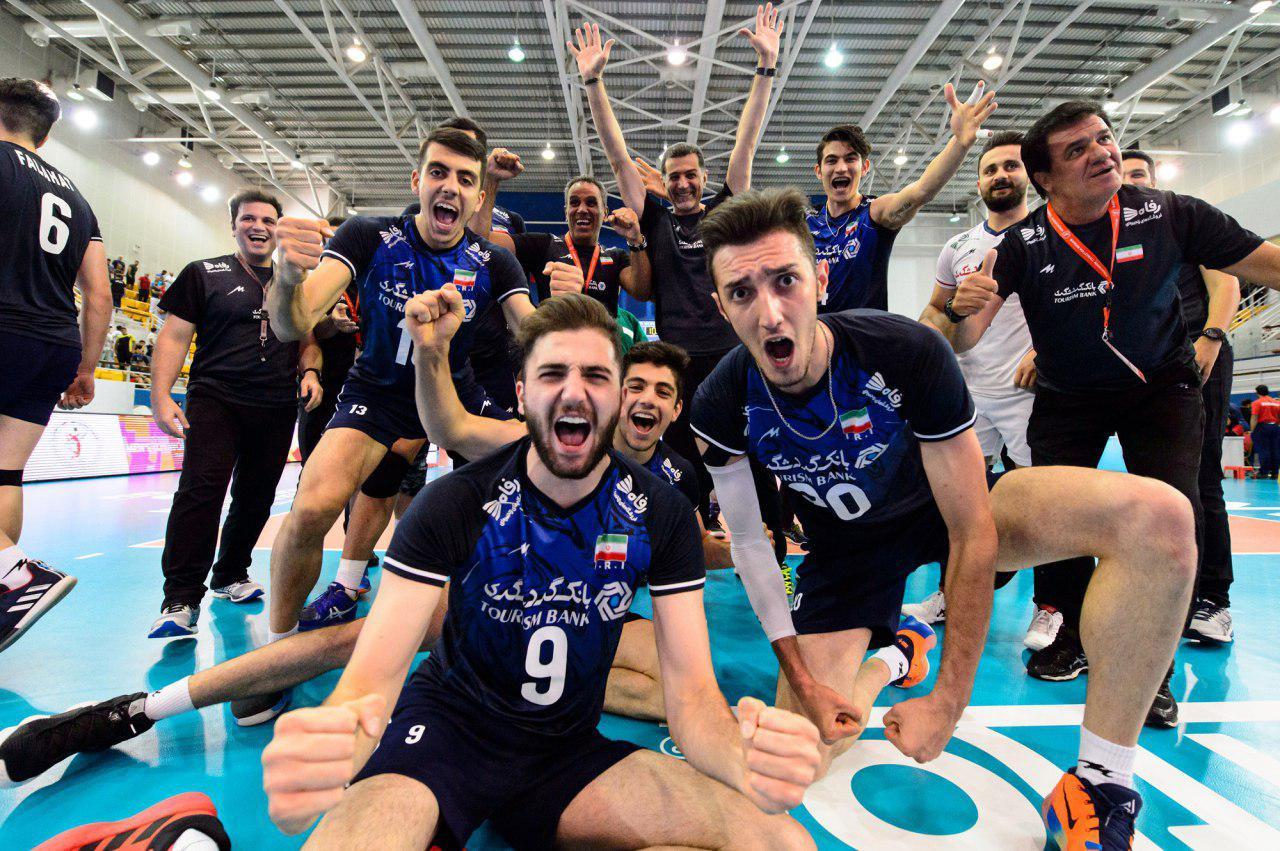 والیبال ایران، بالاخره برزیل را به زانو درآورد