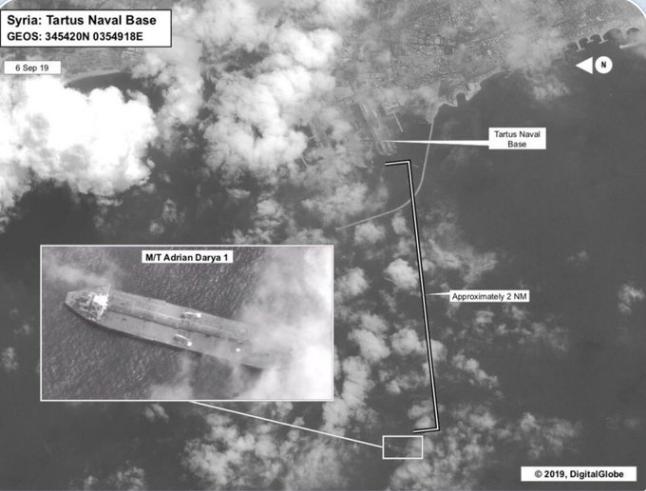 مذاکره محرمانه ایران و آمریکا بر سر نفتکش آدریان دریا!