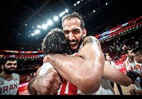 صعود تاریخی بسکتبال ایران به المپیک به روایت عکس