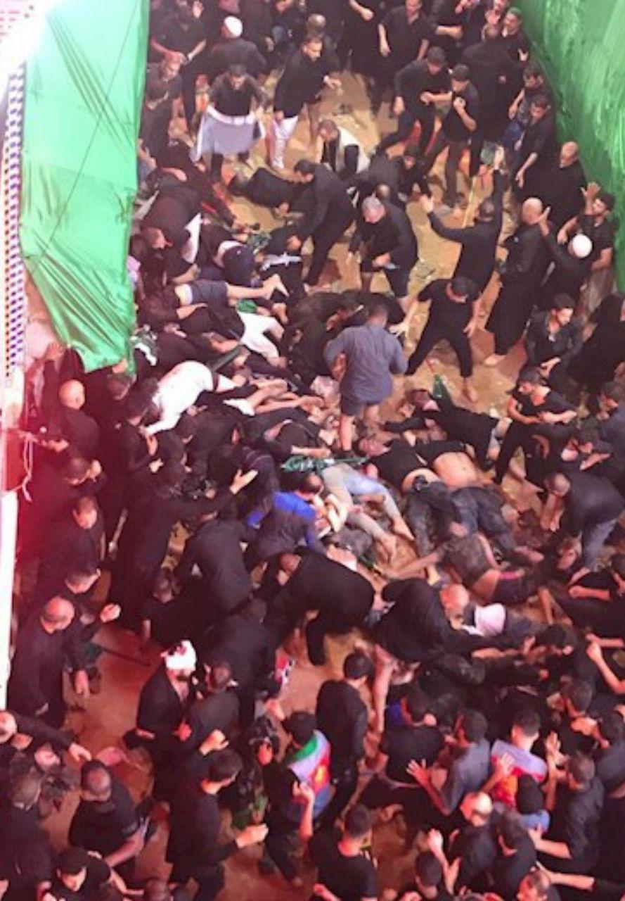 جان باختن ۳۱ نفر در ازدحام جمعیت در کربلا