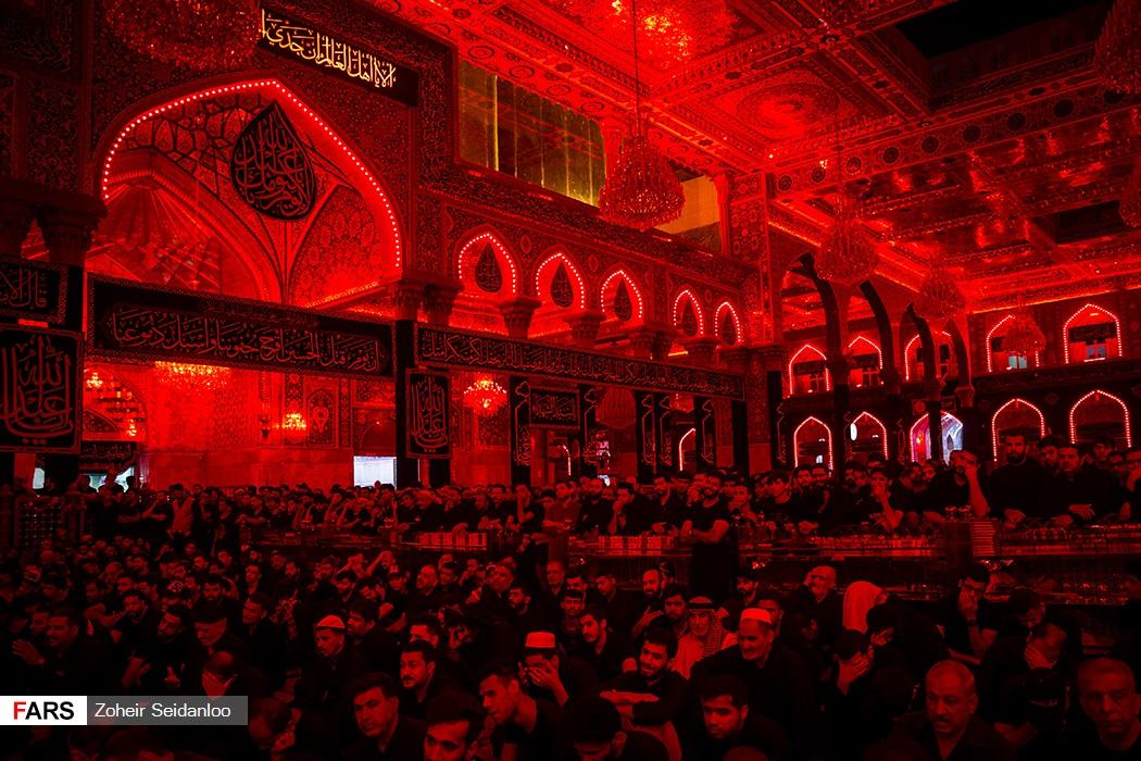 شام غریبان حضرت اباعبدالله الحسین (ع) در کربلا