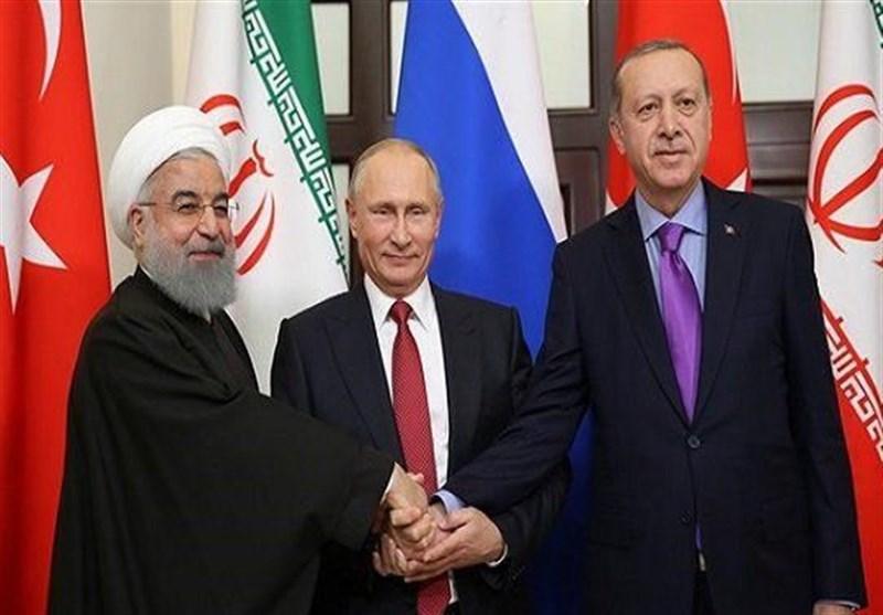 آغاز نشست رؤسای جمهوری ایران، روسیه و ترکیه