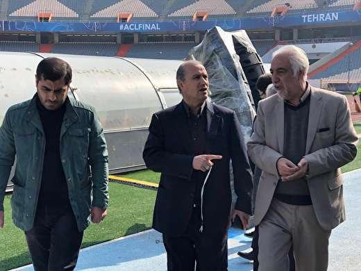 احضار رییس شرکت تجهیز به حراست فدراسیون فوتبال!