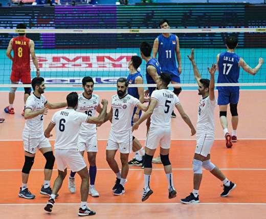 والیبال قهرمانی آسیا| ایران 3 - چین 0 ؛ شکست میزبان انتخابی المپیک