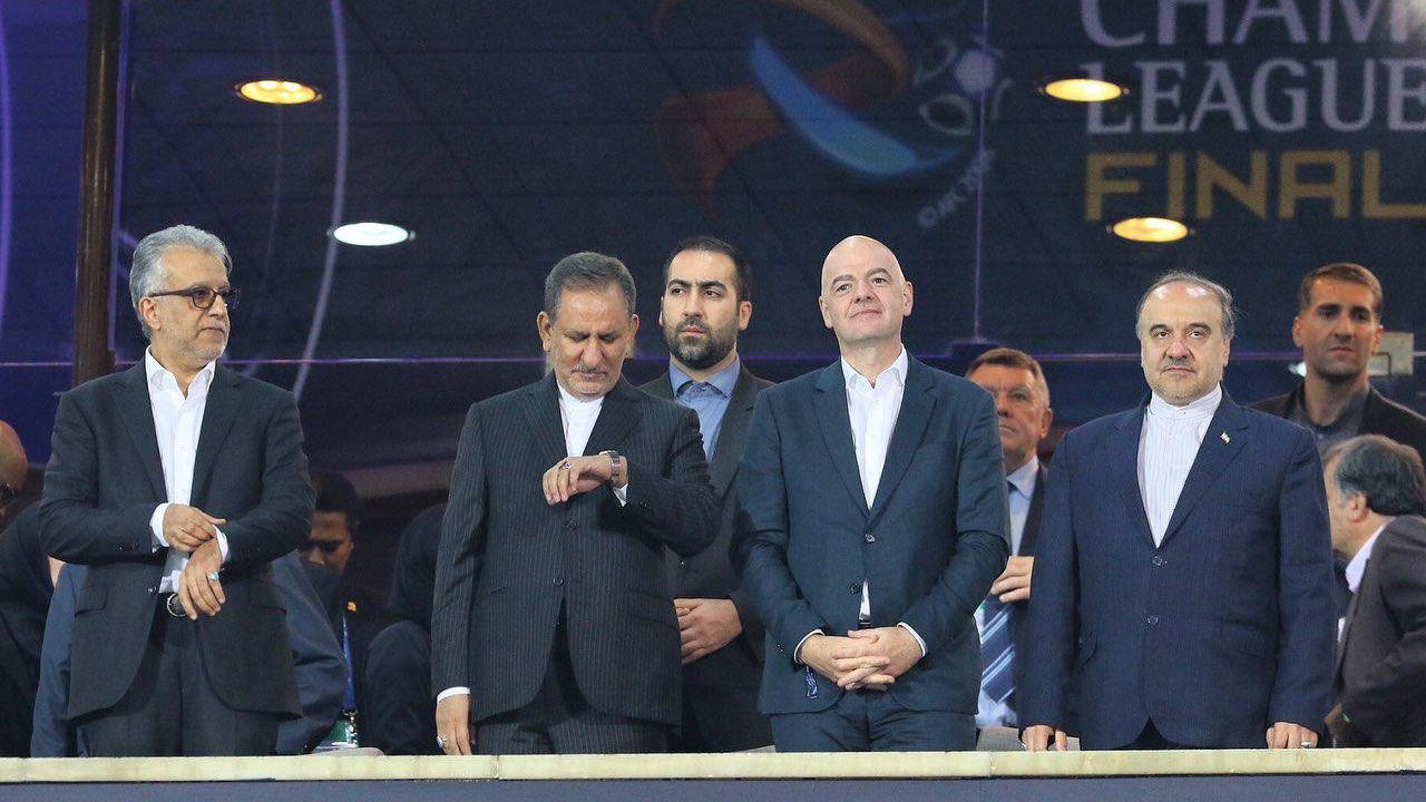 بیانیه مهم رئیس فیفا در مورد حضور زنان ایرانی در ورزشگاه