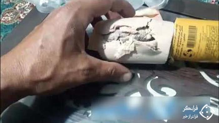 پیدا شدن موش داخل بسته بندی کالباس