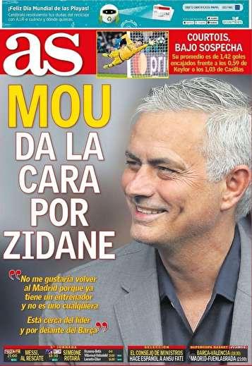جلد روزنامههای ورزشی اروپا شنبه ۳۰ شهریور