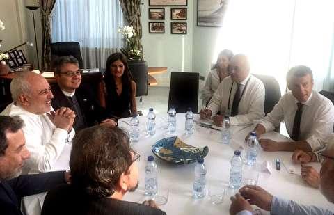 سخنان ظریف پس از بازگشت از مذاکرات گروه هفت