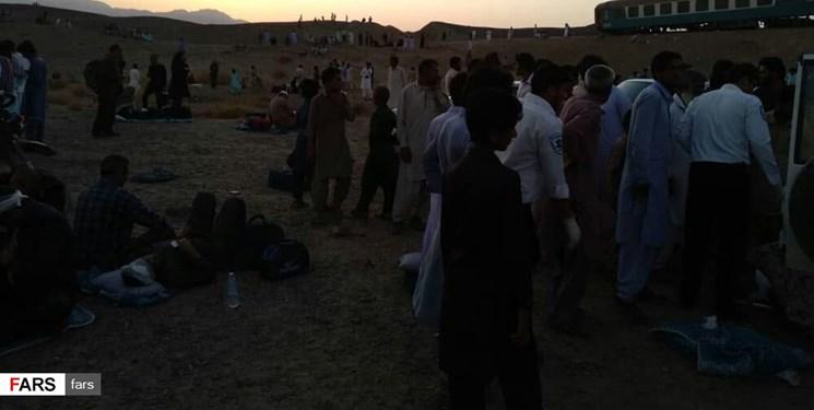 رشادت مردم روستای شورو در حادثه قطار زاهدان-تهران
