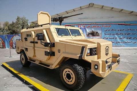 جزئیات خودرو ضدگلوله ارتش در معابر تهران
