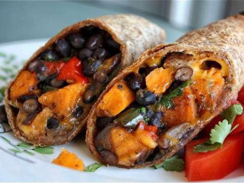 طرز تهیه بوریتو بدون گوشت