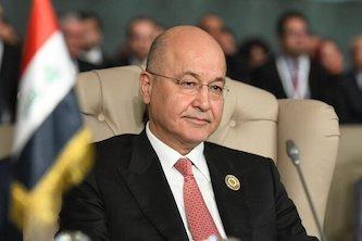 برهم صالح، خواستارتحقیق درباره عامل حمله به معترضان