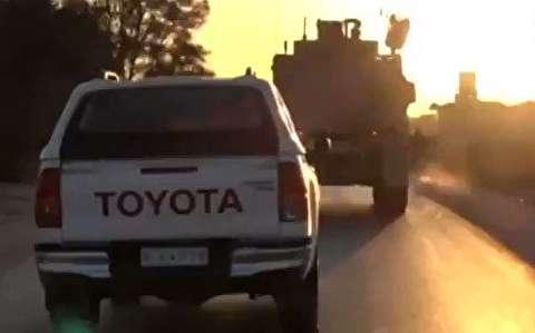 خروج نظامیان آمریکا از مناطق کردنشین سوریه
