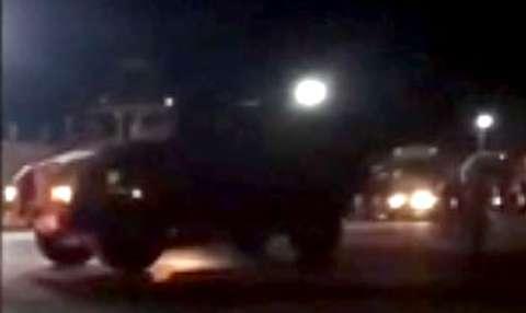 لحظه ورود یگانهای زرهی ارتش ترکیه به سوریه