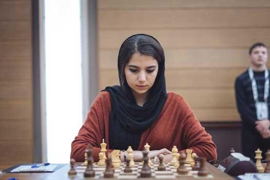 انگلیس به دختر معروف شطرنج ایران ویزا نداد+عکس
