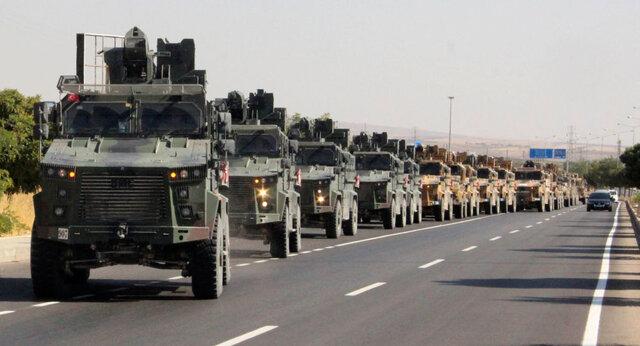 آغاز تهاجم نظامی ترکیه به سوریه با دستور اردوغان