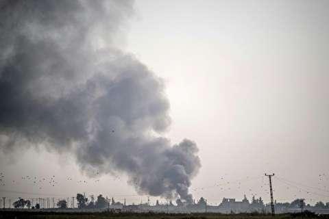 نخستین حملات ارتش ترکیه در سوریه