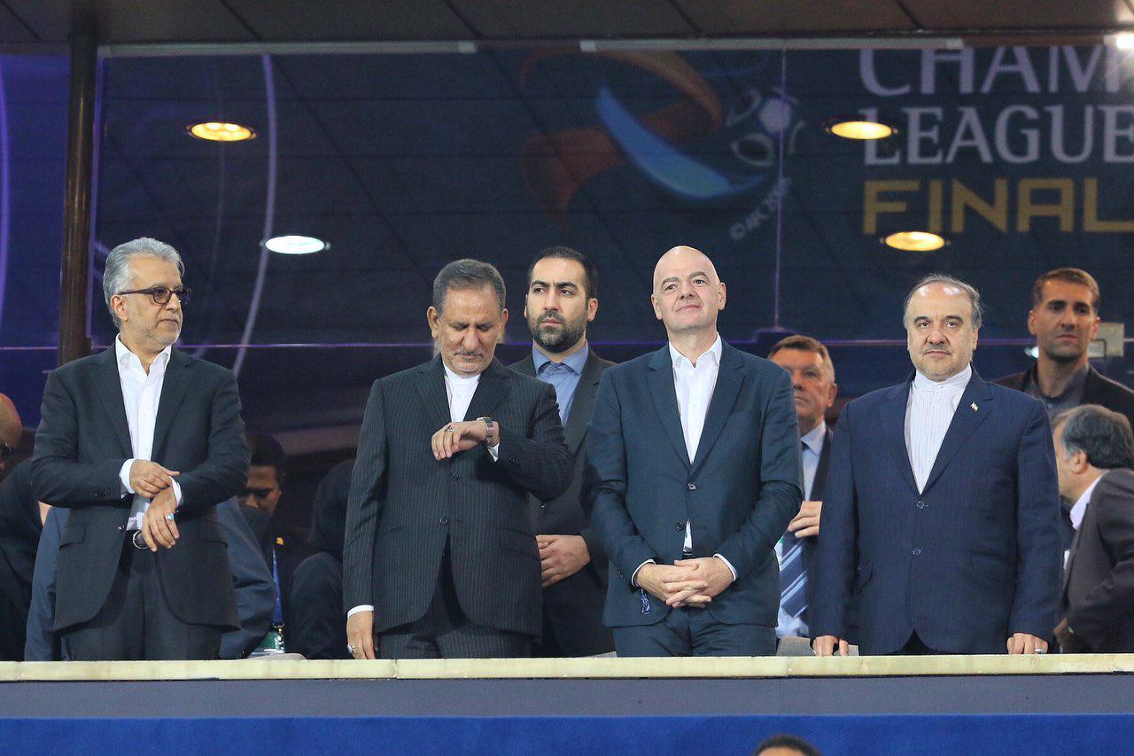 بیانیه رییس فیفا درباره زنان ایرانی: این تازه آغاز راه است!