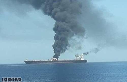 انفجار مشکوک در نفتکش ایرانی در دریای سرخ/ احتمال شلیک دو موشک به SABITI +عکس