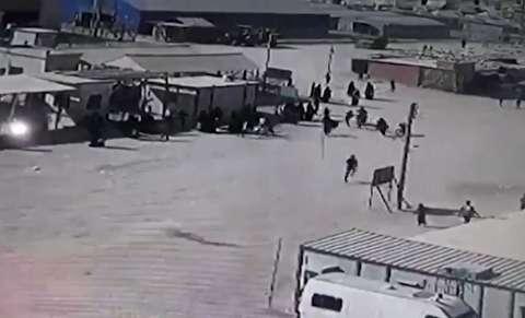 تلاش داعشیها برای فرار از اردوگاههای کردها