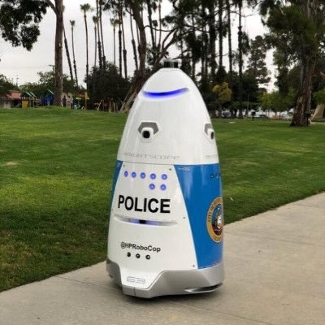 فعالیت روبات های پلیس در آمریکا