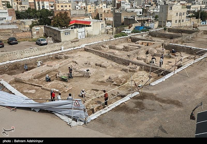 یادگار جنگهای ایران و روم در اردبیل