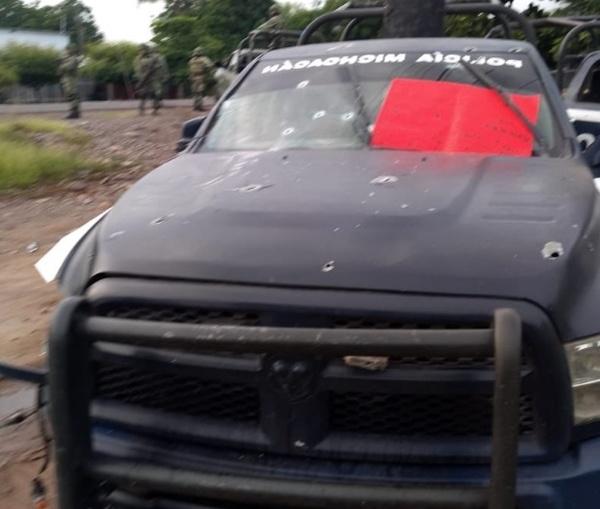 کشتهشدن ۱۴ پلیس در یک درگیری مسلحانه در مکزیک