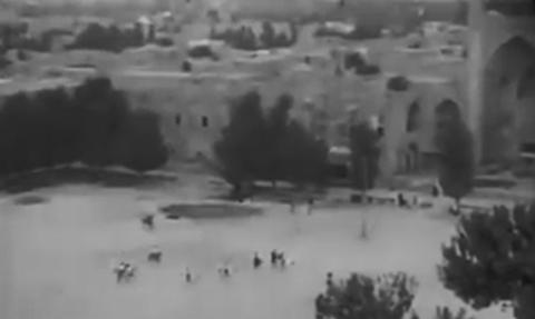 چوگان بازی در میدان نقش جهان اصفهان