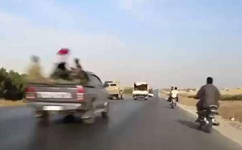 رویارویی ارتش آمریکا و سوریه در کوبانی