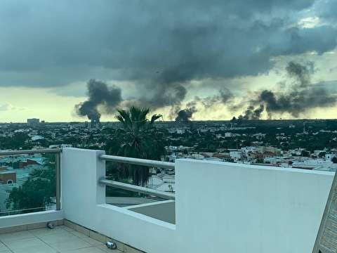 جنگ خیابانی در مکزیک با سلاحهای سنگین