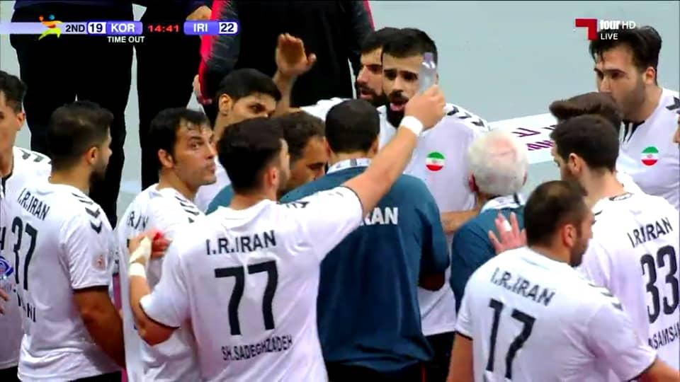 برد تاریخی ایران مقابل کرهجنوبی درهندبال انتخابی المپیک