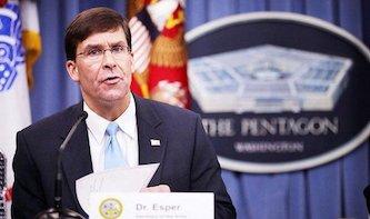 وزیر دفاع آمریکا:  انتقال ۱۰۰۰ سرباز از سوریه به عراق