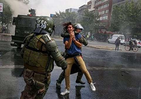 بازگشت سربازها به خیابانهای سانتیاگو