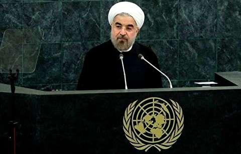 روحانی: پاسخ به مذاکره تحت تحریم «نه» است