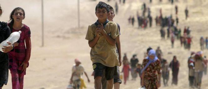 پزشکان بدون مرز: ۵۳۰۰ سوری به عراق پناه بردند
