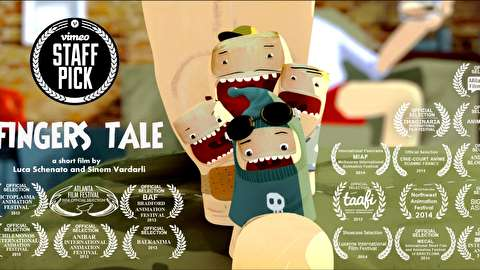 انیمیشن کوتاه داستان انگشتها