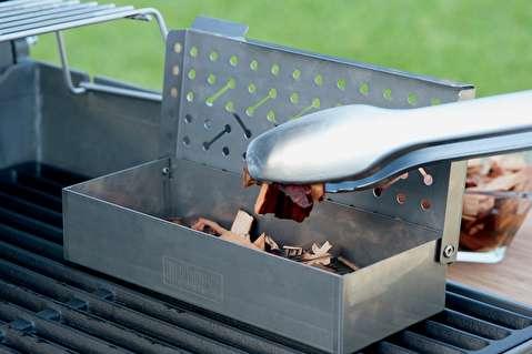 روش استفاده از جعبه دود در گریل گازی