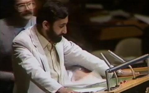حمله به وزیر امور خارجه ایران در سازمان ملل