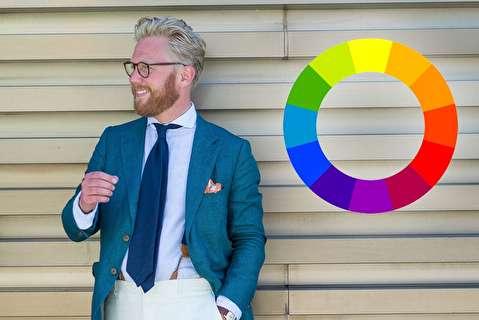 روش استفاده از چرخه رنگ برای ست کردن لباس