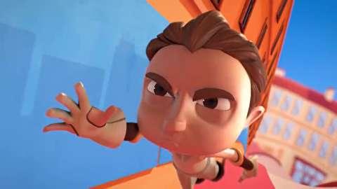 انیمیشن کوتاه عشق کیوپید کور است