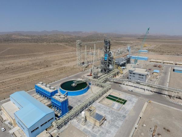 کارخانه احیاء مستقیم شماره یک فولاد بافت کرمان در آینده نزدیک افتتاح میشود