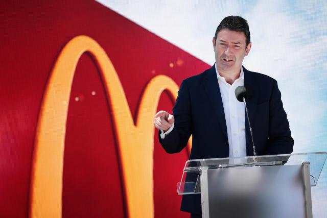 اخراج مدیرعامل مک دونالد به علت فساد اخلاقی