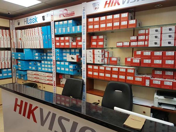 فروشگاه نمایندگی دوربین مداربسته هایک ویژن در تهران